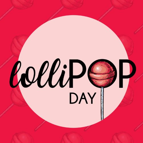 July 20th - #LollipopDay   Search:  Lollipop  July is such a fun month and today is no different, it's #LollipopDay! This simple piece of sugary perfection is a favorite for all ages. Now who can guess how many licks it takes to get to the center of a lollipop? Stop by _________ Apartments with your guess and enjoy a free lollipop with your tour!