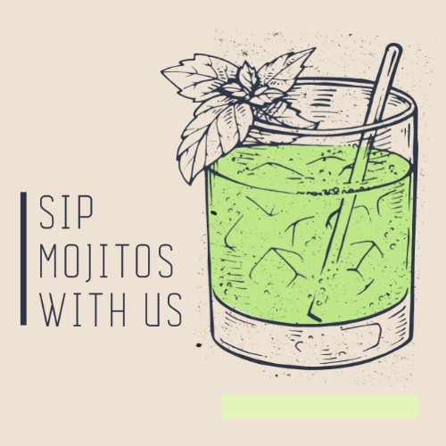 July 11th - #MojitoDay  Nothing says classy like an afternoon Mojito. And  @(name of bar)  is the coolest spot to get a tasty drink on #MojitoDay. Now if anyone needs me, you know where I'll be after work.