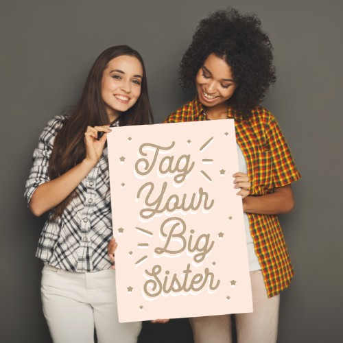 August 4th - #SistersDay   Search:  SISTER  Sisters… can't live with them, can't live without them… amiright? Today #SistersDay, a whole dedicated to bugging our sisters. 😈 I mean, loving on them! The team here at ________ Apartments knows how much family matters! Tag your sister in the comments and wish her a happy #SistersDay!