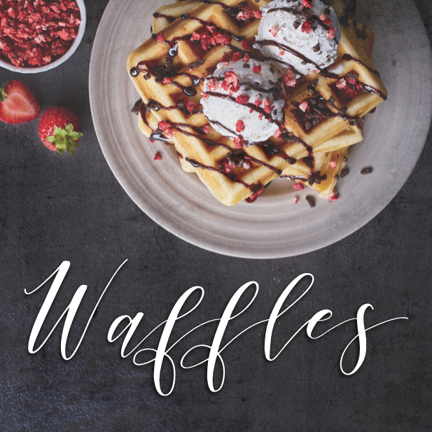 August 24th - #WaffleDay   Search:  WAFFLE  #WaffleDay is today, but, do we reeeeally need a day for that? Waffles are a regular meal for us here in the __________ Apartments clubhouse. 🤷 Delicious AND nutritious...right?!