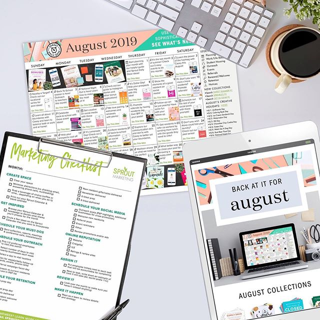 Another month, another calendar! Head over to our latest blog to read about some marketing GOLD that you can implement this month. Plus, find some FREE downloads hidden in there too. . . . . . #SproutMarketing #sprouterlife #sprouters #marketinggoals #dailydose #multifamilymarketing #apartmentmarketing #realestate #realestatemarketing #stockphotography #photography #marketingideas #multifamilyrealestate #multifamilymarketing #marketingstrategies #socialmediamanagement #propertymarketing #propertymanager #propertymanagement #leasingprofessional  #leasingagent #apartmentliving