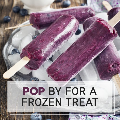 September 2nd - #BlueberryPopsicleDay   Search:  BLUEBERRY or POPSICLE  Not going to lie… we can't think of anything better than an ice cold blueberry popsicle on a hot day! Do you agree? ________ Apartments wants to treat our residents to a refreshing treat for #BlueberryPopsicleDay . Stop by the office for a grab-n-go popsicle!