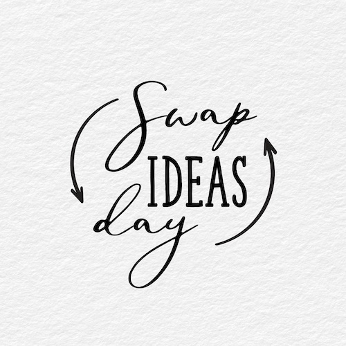 September 10th - #SwapIdeasDay   Search:  IDEA  Today is #SwapIdeasDay ! Take this opportunity to brainstorm a little extra at your job today and share those ideas with your team. Call a friend and talk IDEAS, dream big, learn something new! _______ Apartments wants to give you an idea: clean out that junk drawer you're always saying you're going to clean out! 😜 lol