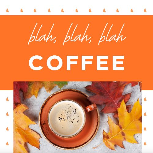 September 29th - #CoffeeDay   Search:  COFFEE  Wait… We thought every day was coffee day?... We're confused.  Well, happy #CoffeeDay! Although, for ________ Apartments, every day is coffee day. You can stop by the office any day for a cup of free fresh coffee! We love to share the love. Coffee = Love.