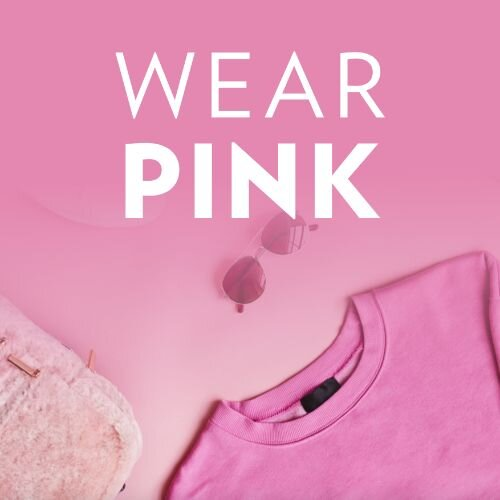 October 18   #WearItPink Day   Search:  PINK  #WearItPink Day is a day to raise breast cancer awareness by wearing pink clothing/gear! The team at ________ Apartments is participating, are you? Stop by the front office in your pinkest pink today and get a treat on us!