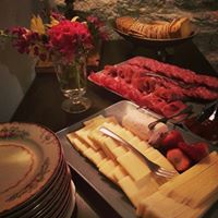 Catered Curied Meat and Cheese