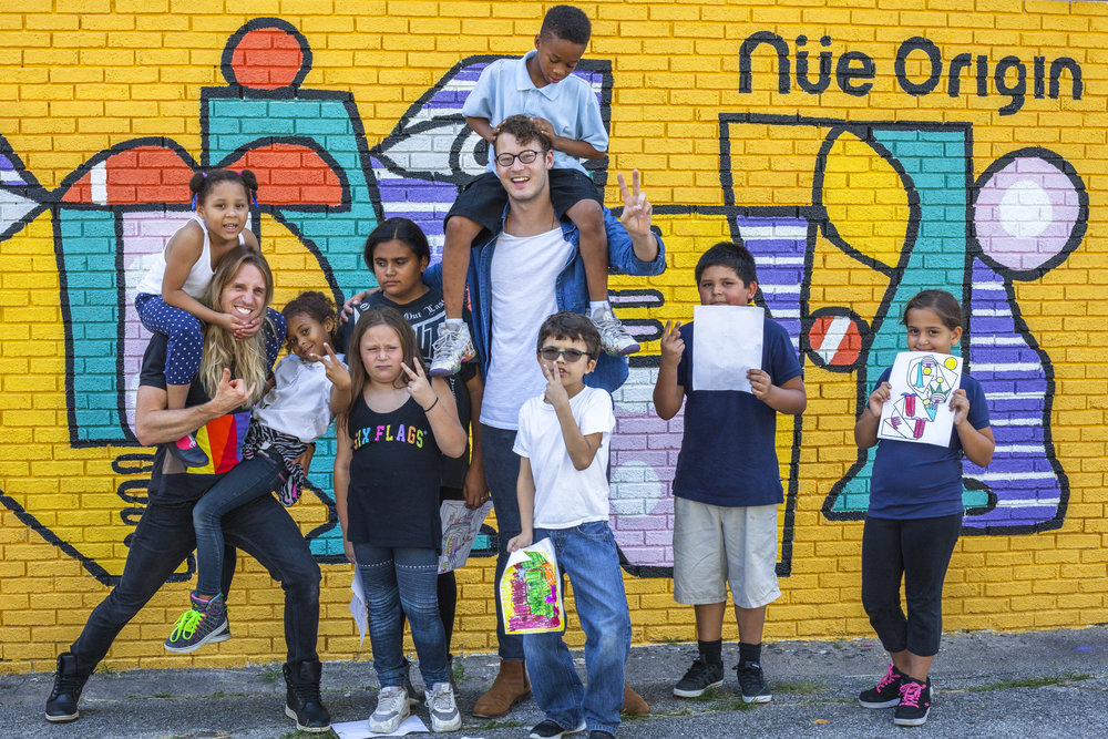 Indianapolis, IN- Youth Center Mural Event