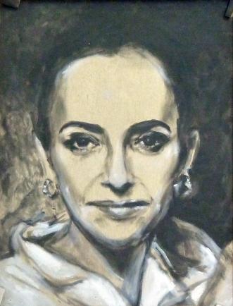 Retrato de Esther Arias Aguilar.