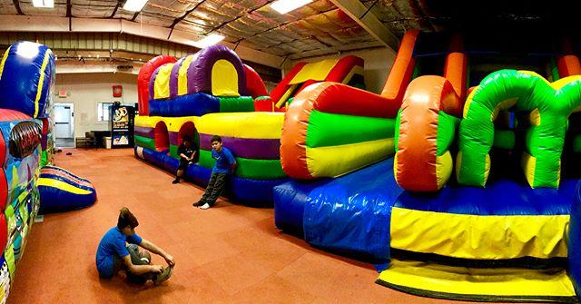 Family owned & family friendly, Happy Jumpy! 😊 #HappyJumpy #HollisterCA #LaserTag