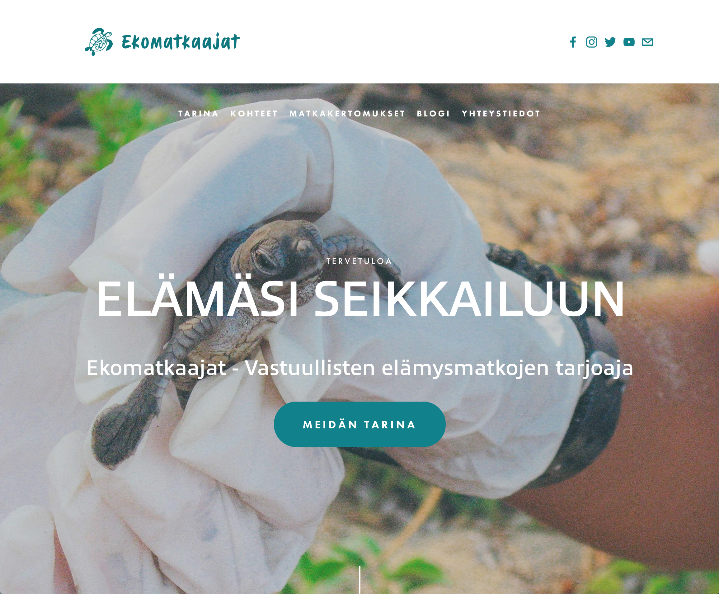 Here is home site of the new Ekomatkaajat-website