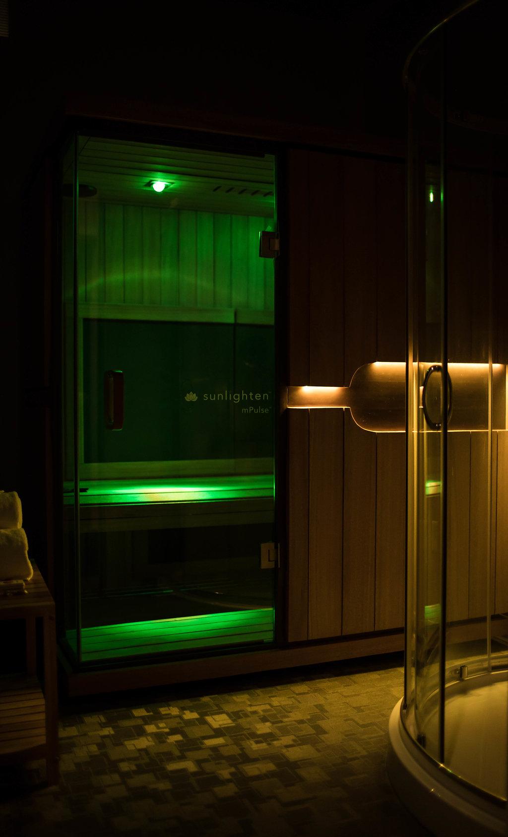 Infrared Sauna - $25- 30 Minutes