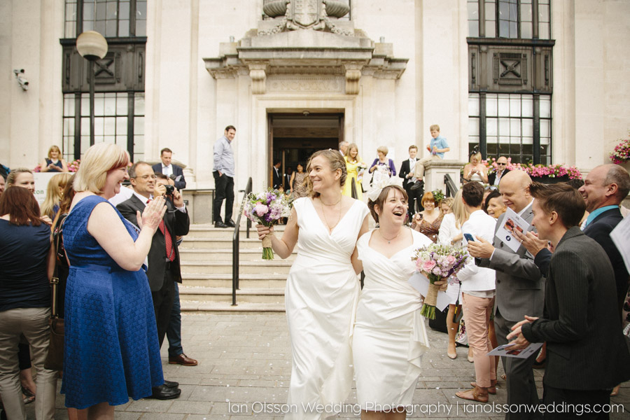 Fi & Ros's Wedding at Islington Town Hall London