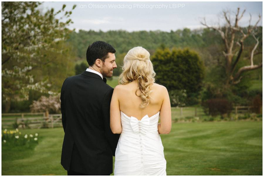 Joanne & Russell's Wedding at Russets Country House in Chiddingfold Surrey 9