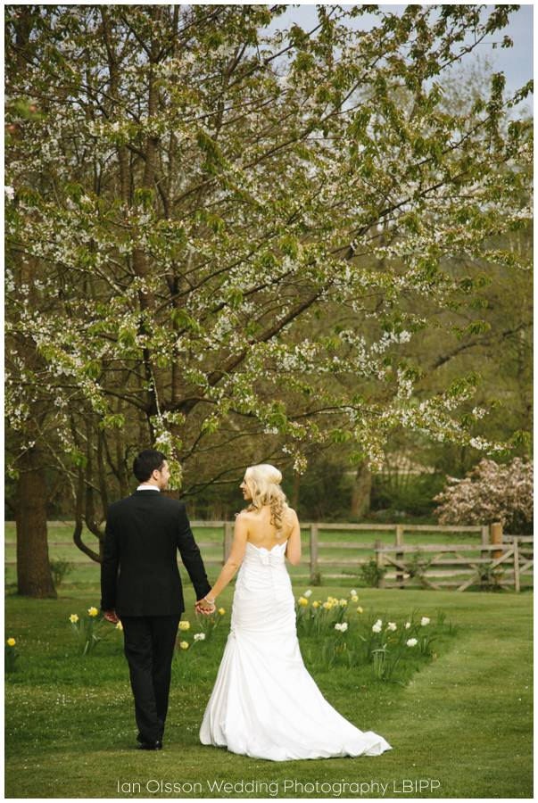 Joanne & Russell's Wedding at Russets Country House in Chiddingfold Surrey 12