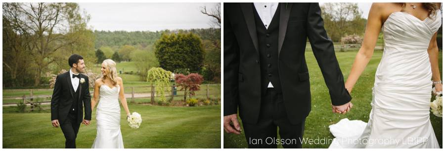 Joanne & Russell's Wedding at Russets Country House in Chiddingfold Surrey 16