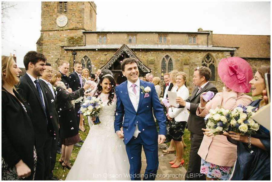 St Mary's Church Clifton-upon-Dunsmore Warwickshire Wedding 15