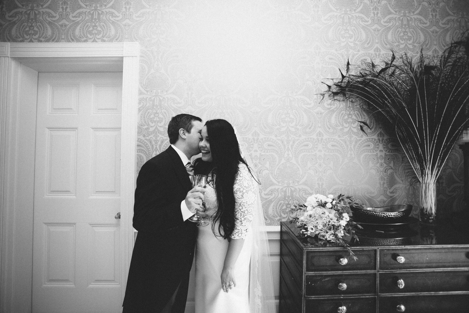 A relaxed outdoor wedding at Barrington Hall