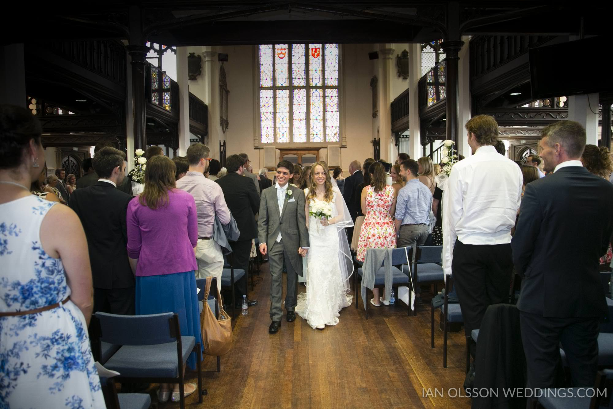 St Andrew's The Great Church Cambridge Wedding | STAG Church | C