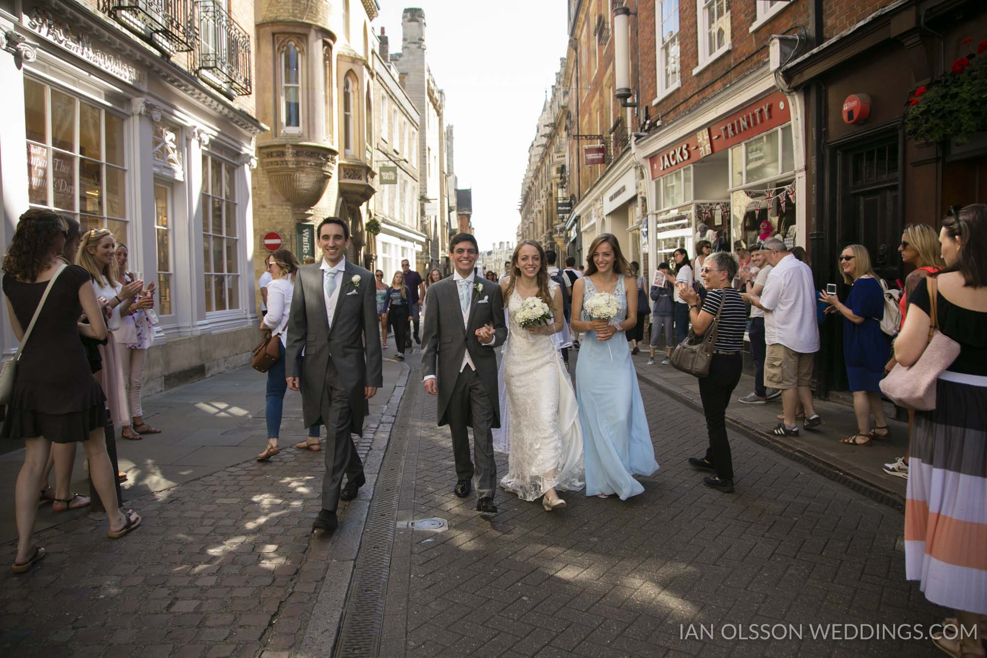 Cambridge Union Society Wedding | Claire & Andrew