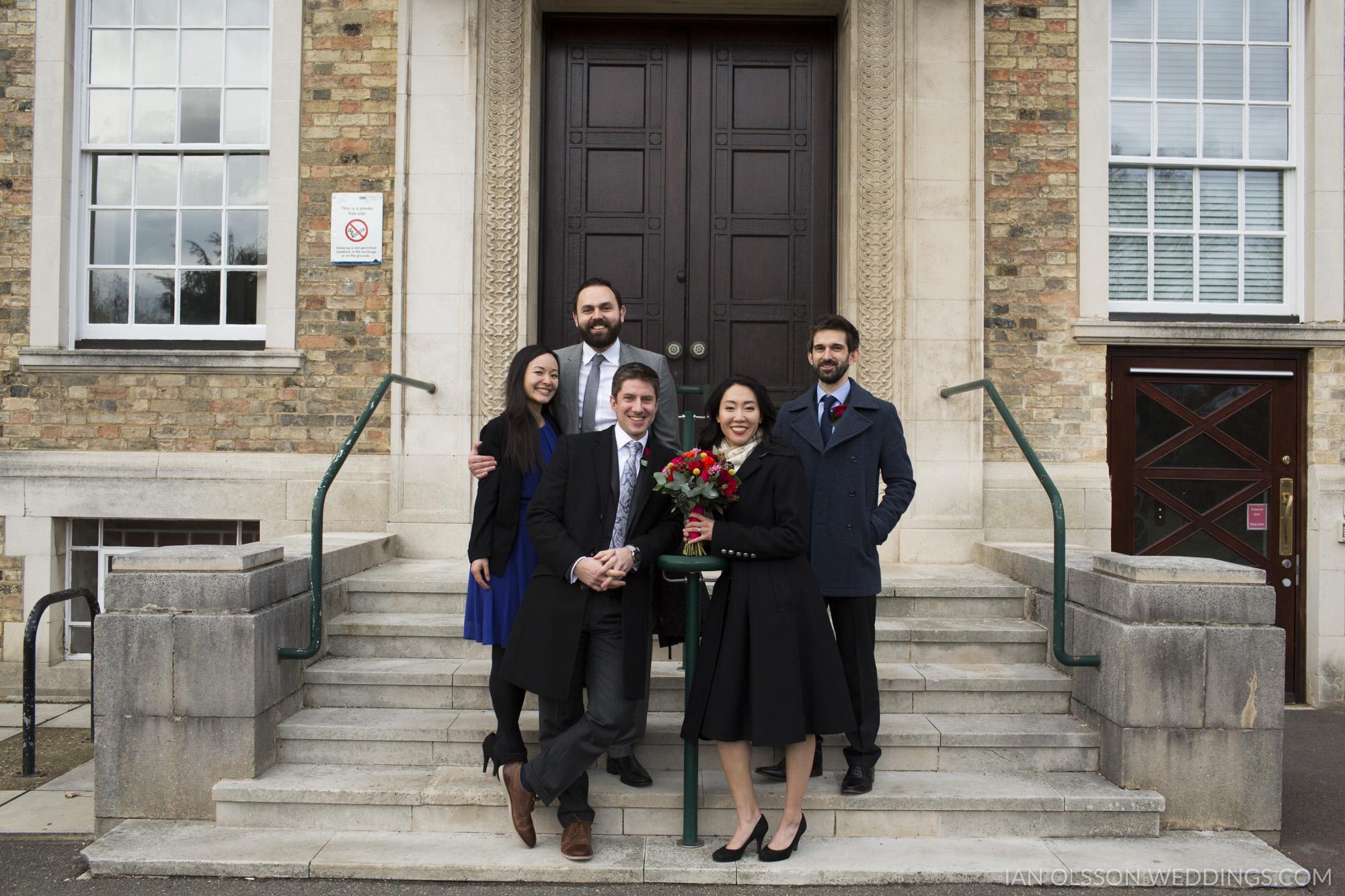 Cambridge Registry Office Wedding | Carol & Henry