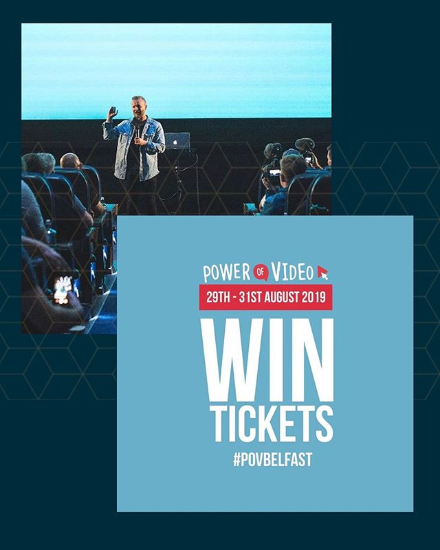 ⚡️Calling all Belfast creators! 🎥  We've paired up with the POV team to bring you this epic (even if we say so ourselves) competition. The prize two incredible Pro Passes (worth £89.00 each) to the Power of Video Conference Belfast 30th & 31st August. 😍 ______________ . 👉🏼 To enter 👈🏼 Like this post ❤️ Tag a friend you'd bring 👫  follow @thepowerofvideo 👍🏼 ______________  It's that easy! 😎 🎉 We'll announce the winners Monday 19th🎈  The prize includes: 👌🏼2 Day Pass 🎟 ✅ Industry Day - 30th August 2019 (Friday) sponsored by @canonuk ✅ Creator Day - 31st August 2019 (Saturday) sponsored by VidIQ ✅ FREE 3 Month Creator Subscription to Epidemic Sound - worth £30 😱 Speakers so far: @arron_crascall  @petermckinnon  Chris Hau @shonduras  Lizzie Pierce Potato Jet Owen Video Derral Eves Cupcake Suprise Jacklyn Dallas Mandy Celine Jeremy Vest  With more to come... Sponsors:  VidlQ Canon Epidemic sound Adobe Sigma Black Magic Sennheiser  #belfast #explorebelfast #ireland #loveireland #explorebelfast #visitbelfast #lovebelfast #belfast #winterwarmer #travelbritain #visitireland #loveuk #travelnorthernireland #visitbritain #lovegreatbritain #igworldclub #wonderful_places #beautifuldestinations #kings_villages #earthfocus #living_destinations #hello_worldpics #bestcitybreaks #earthofficial #fantastic_earth #EarthVacations #citybestpics #travellingthroughtheworld #europe_vacations