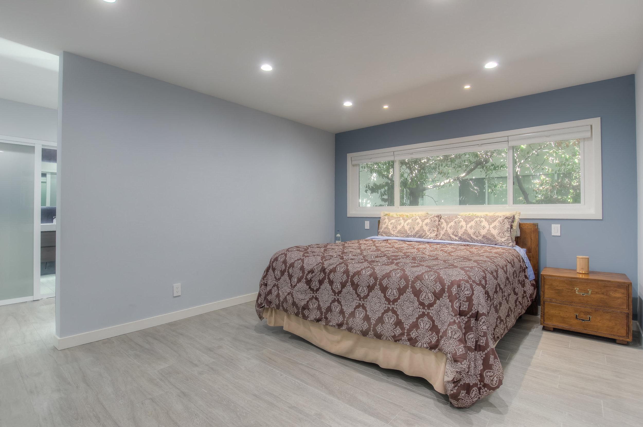 Valley Glen new master bedroom