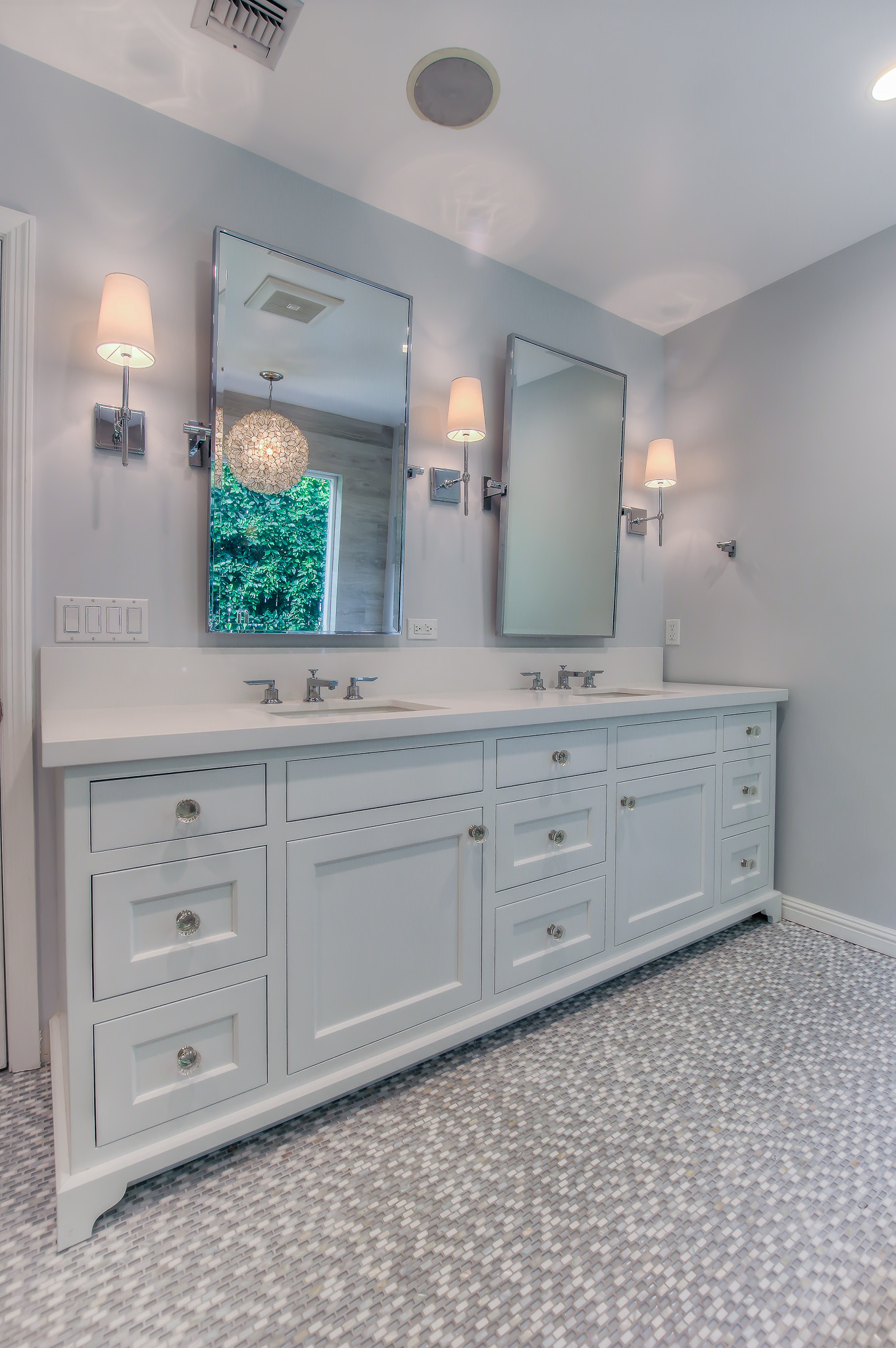 West LA bathroom redesign and remodeling