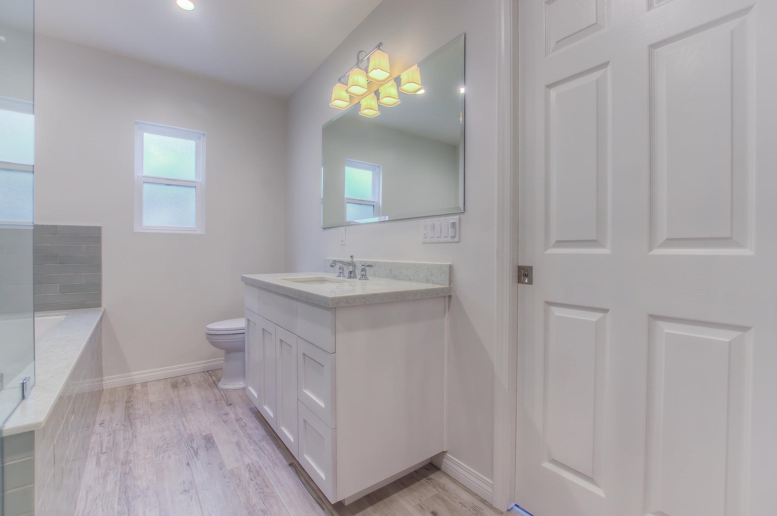 Burbank complete bathroom remodel