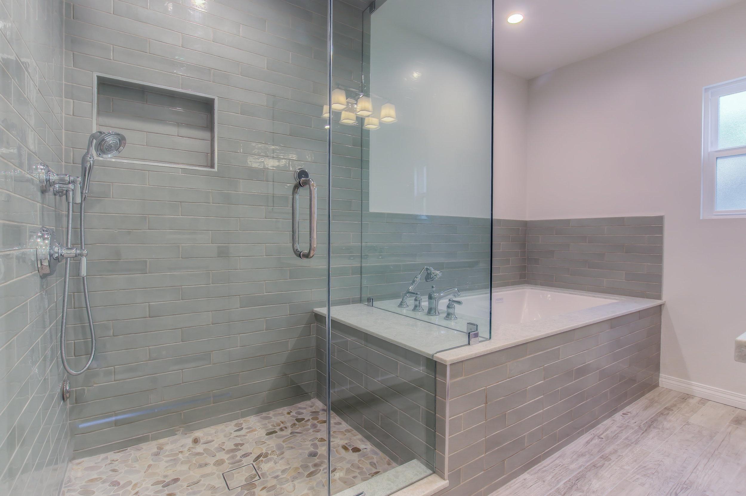 Complete bathroom remodel in Burbank