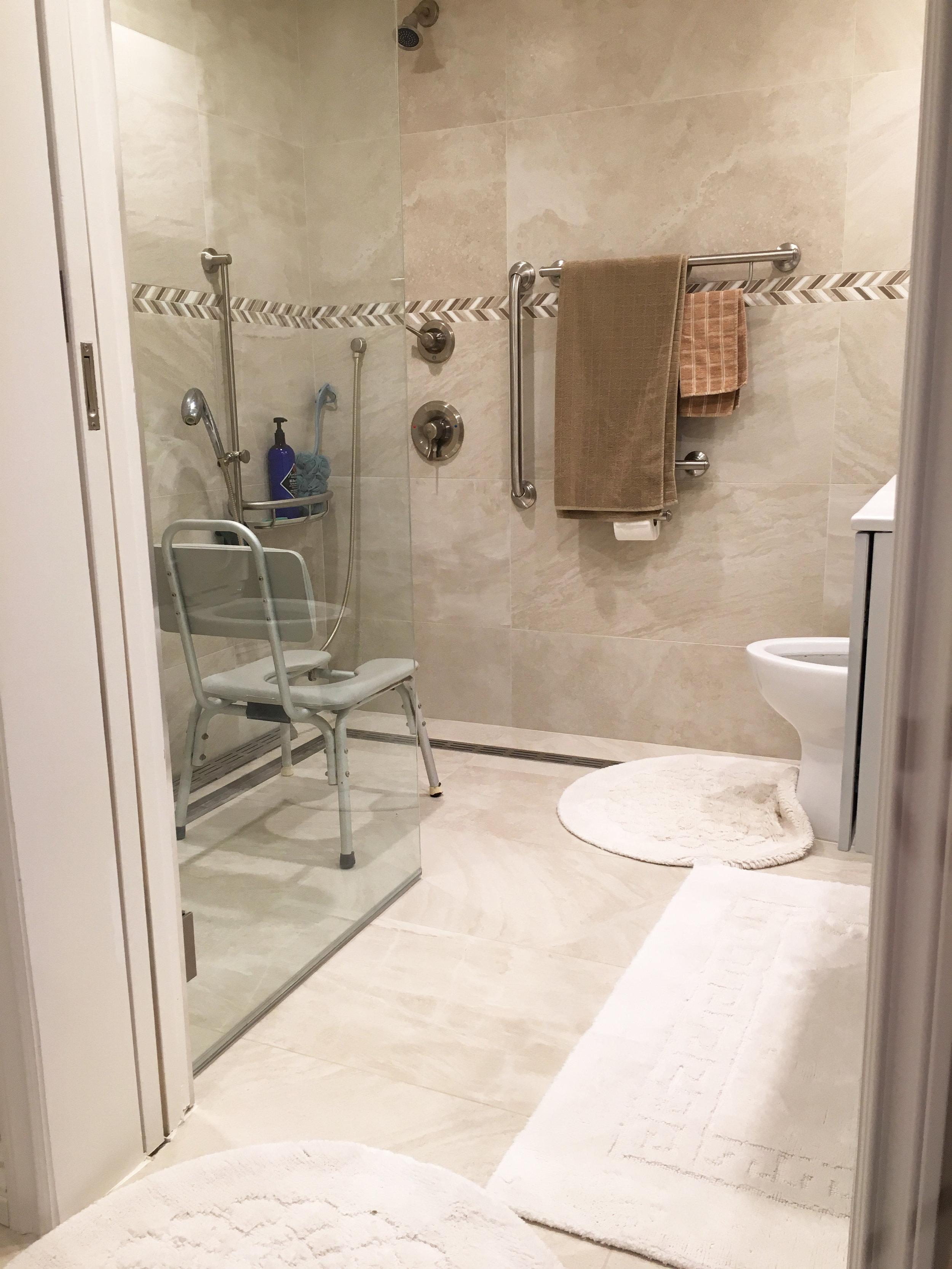 Town House bathroom remodel