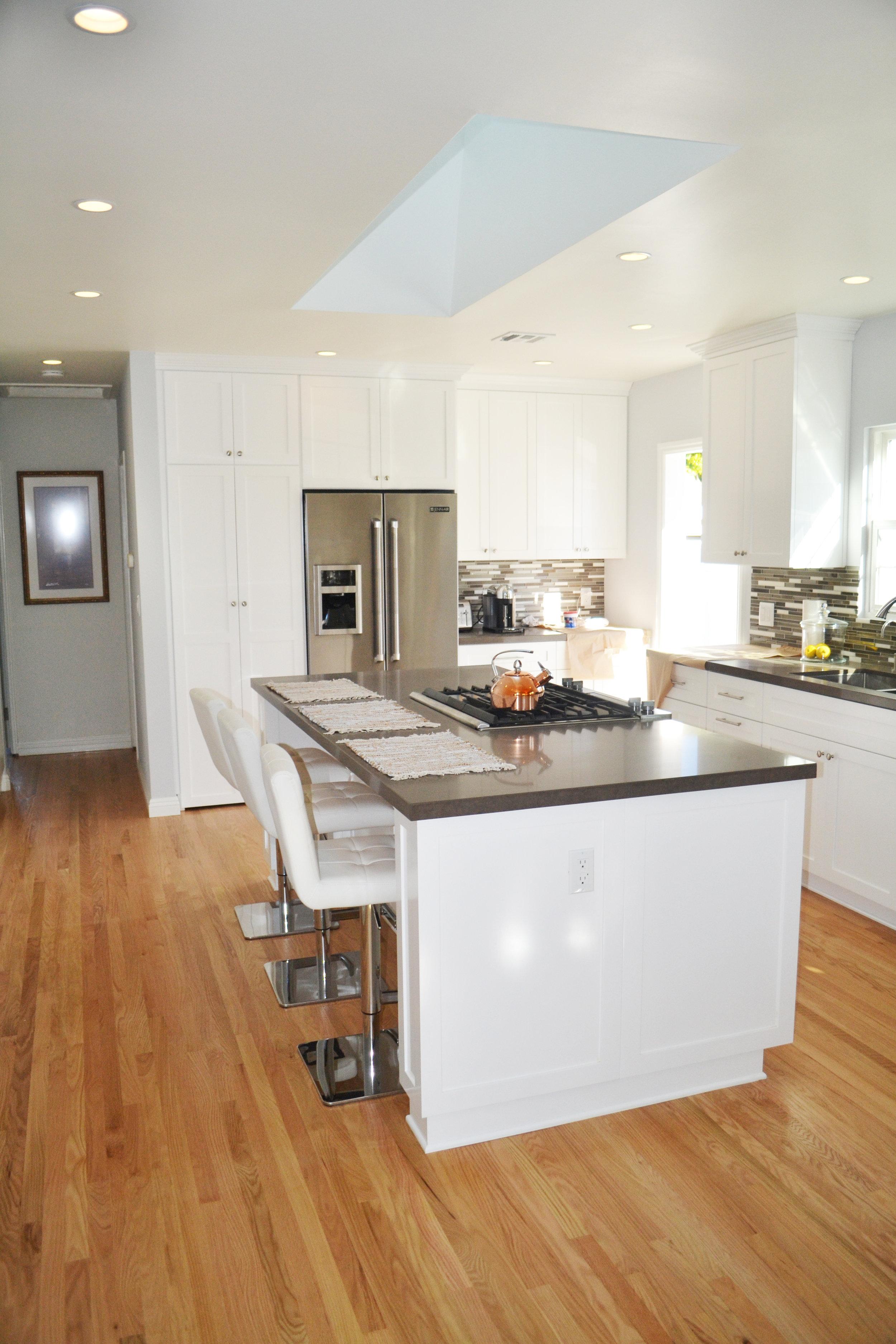 Burbank custom kitchen remodel