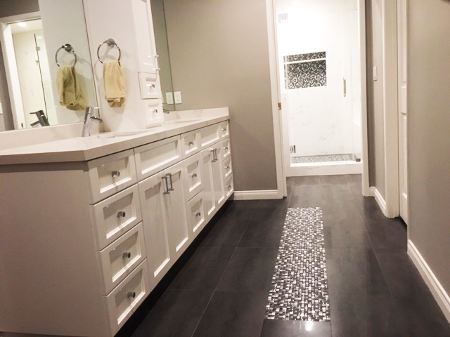 La Canada master bathroom renovation