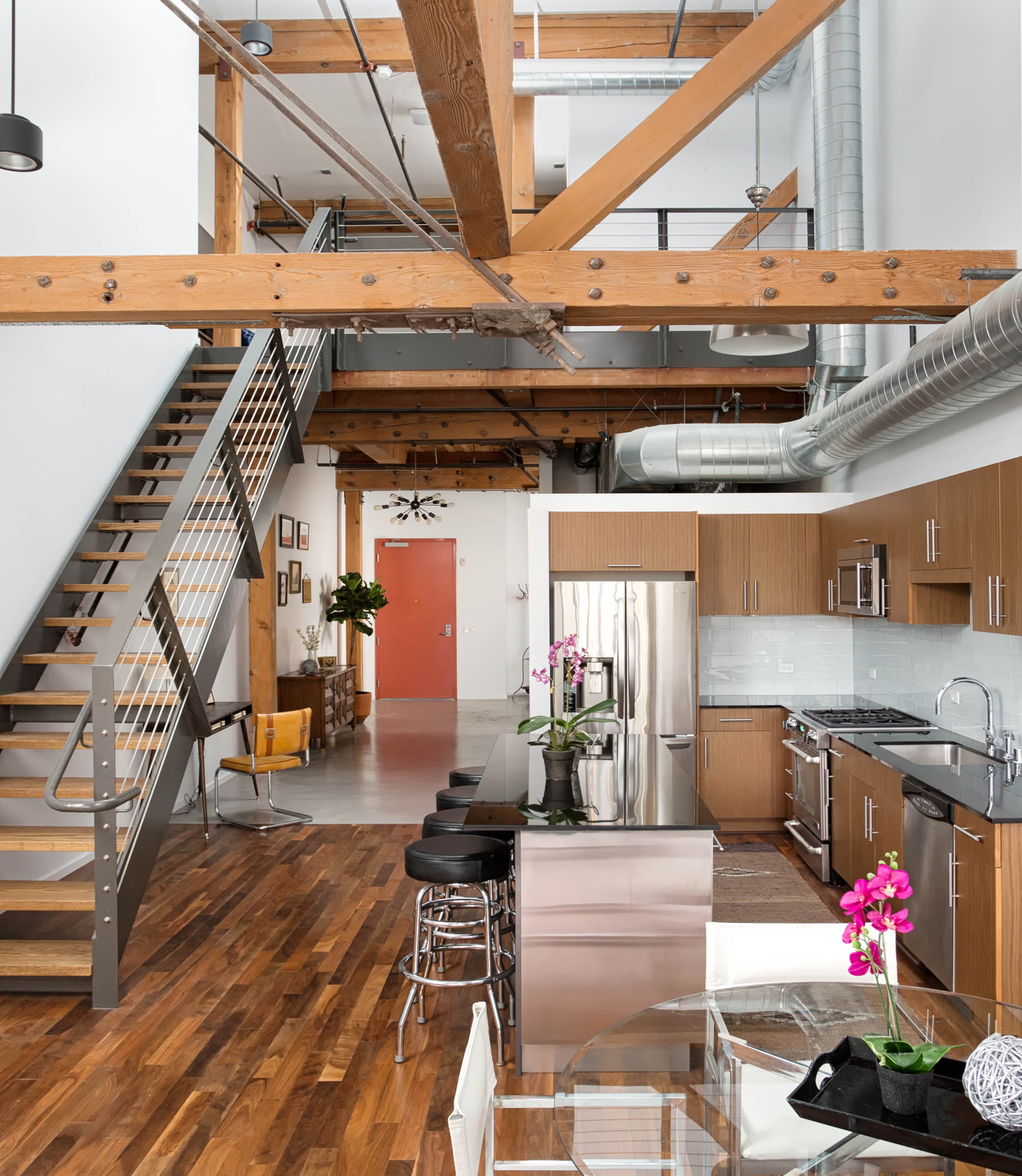 Downtown loft complete remodel