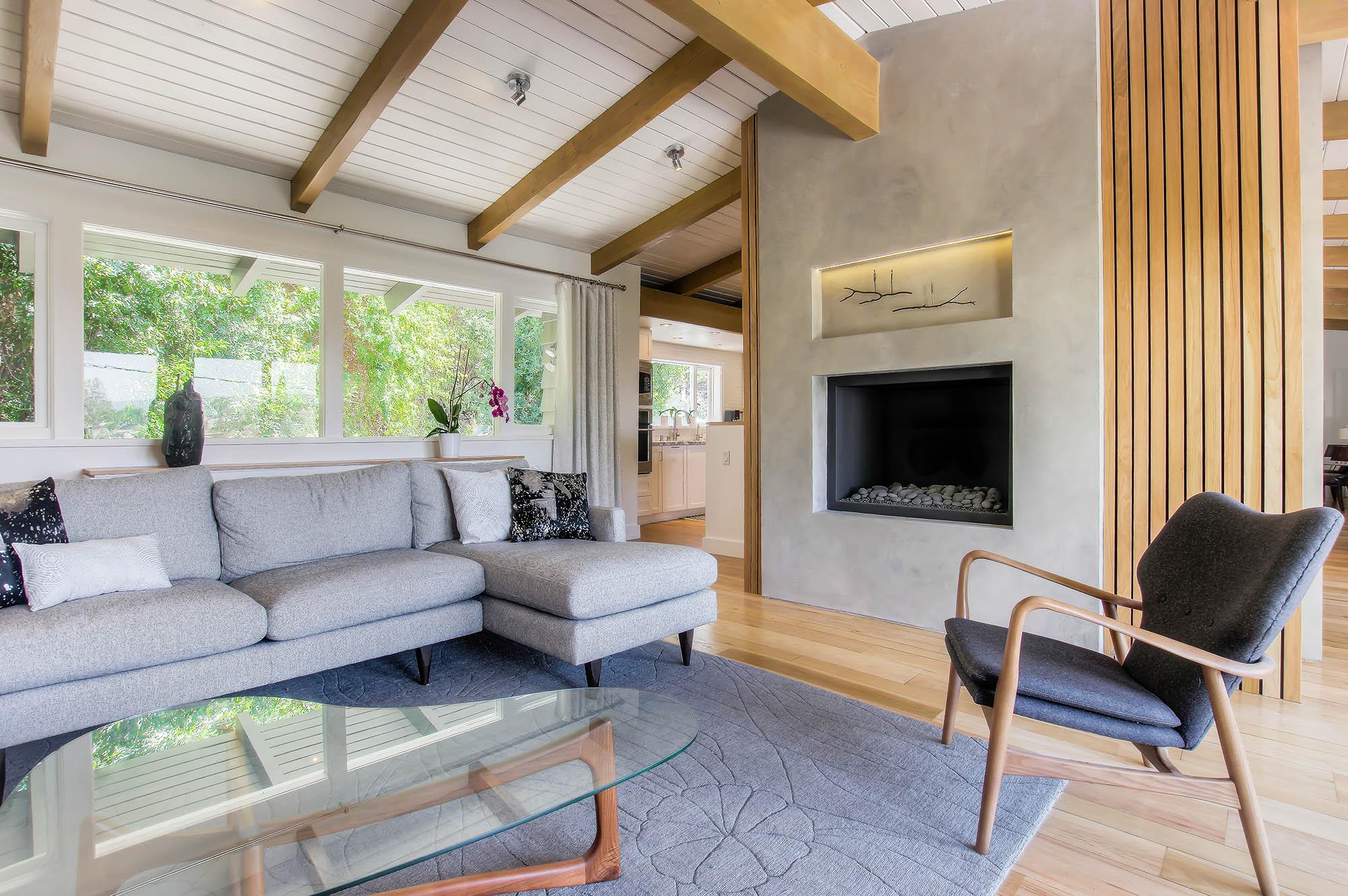 Woodland Hills modern living room