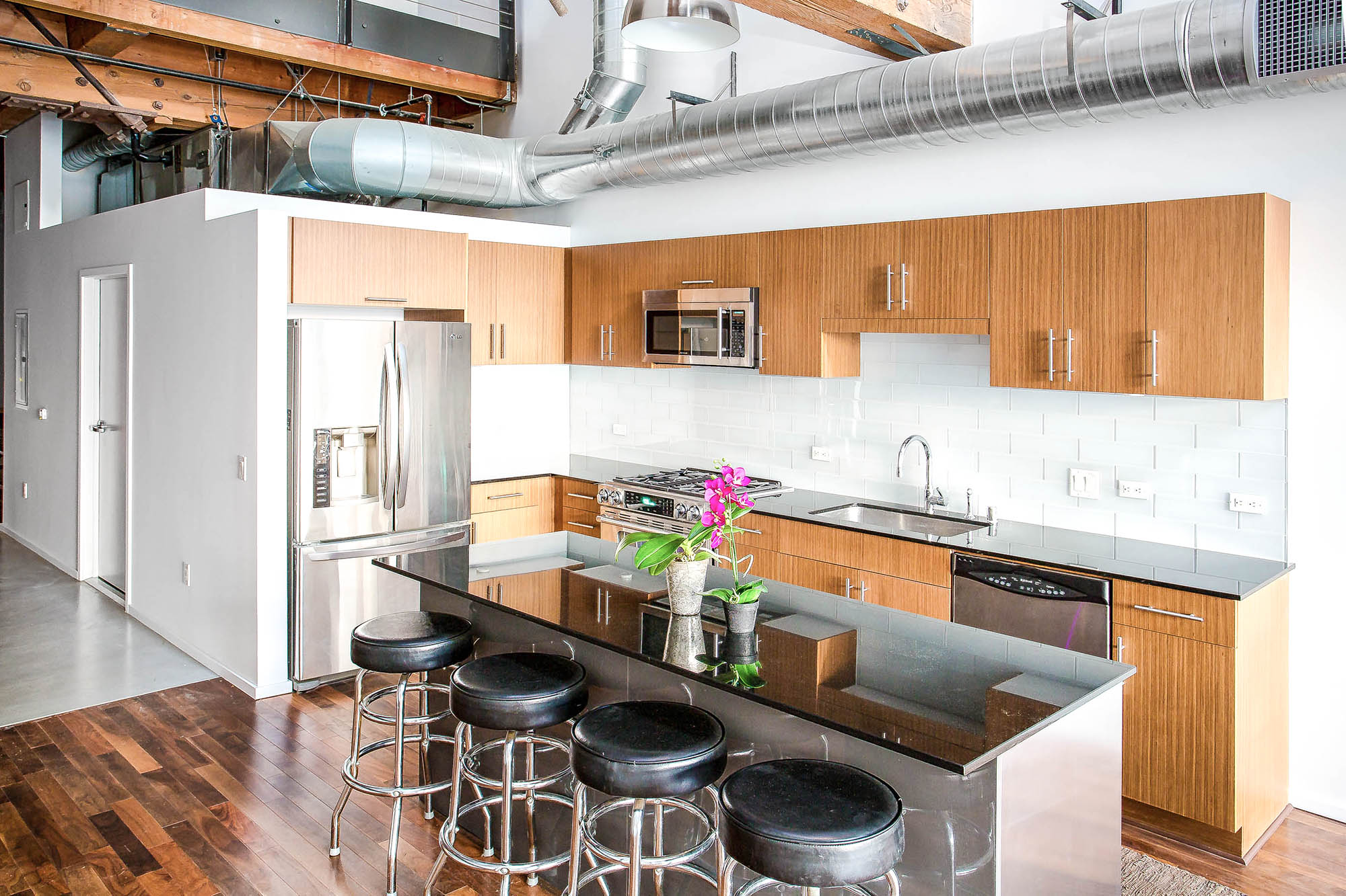 Downtown loft kitchen remodel