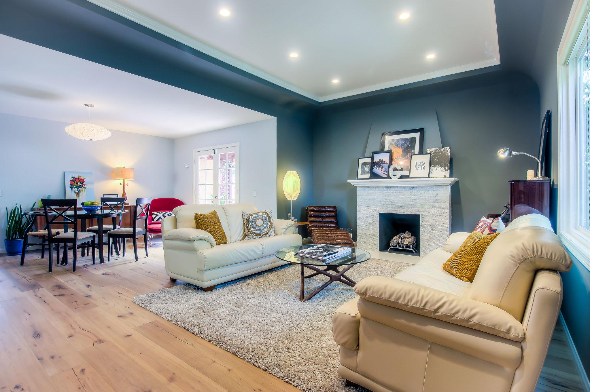 Culver City living room renovation