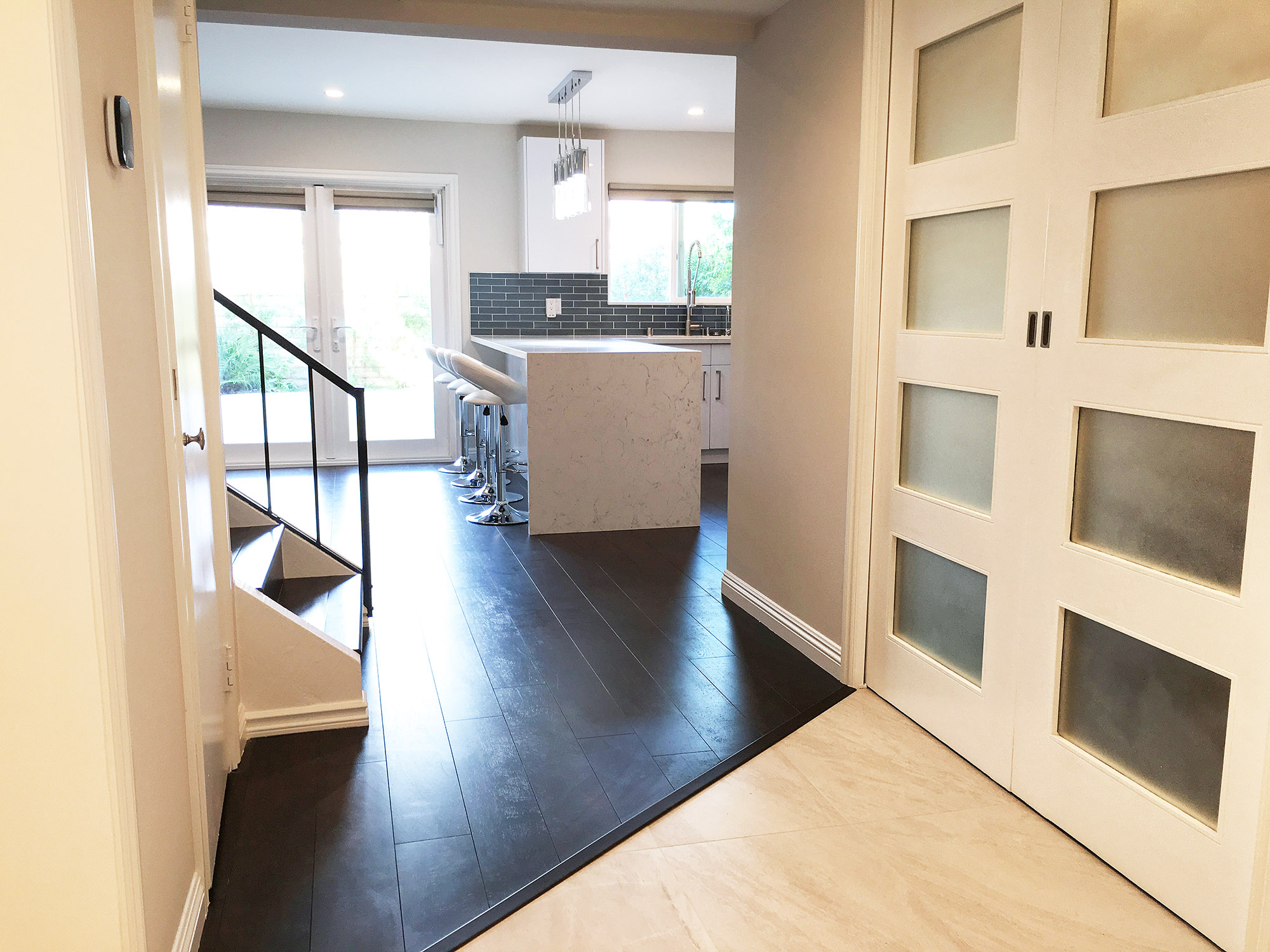 Town house complete remodel