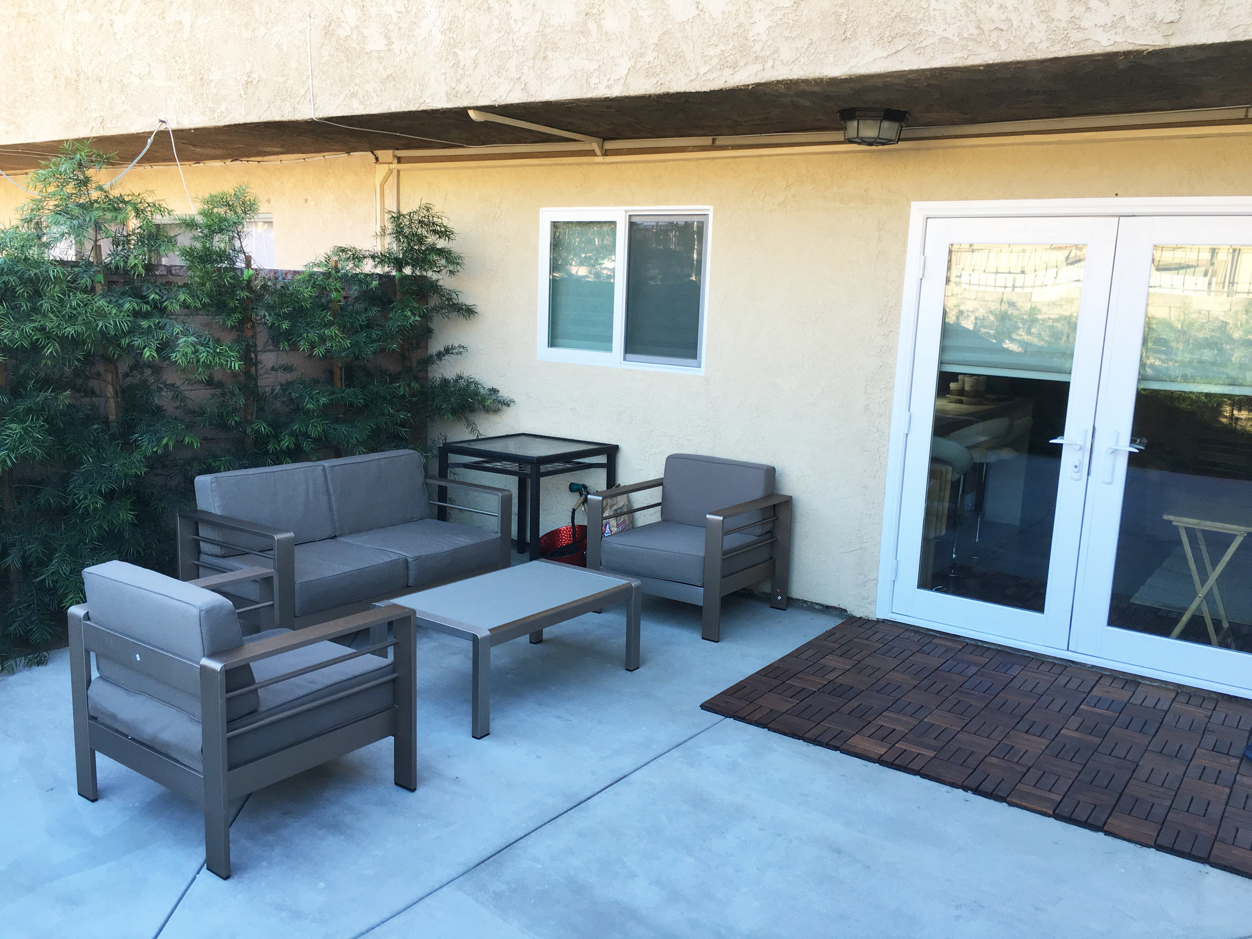 Town house exterior remodel
