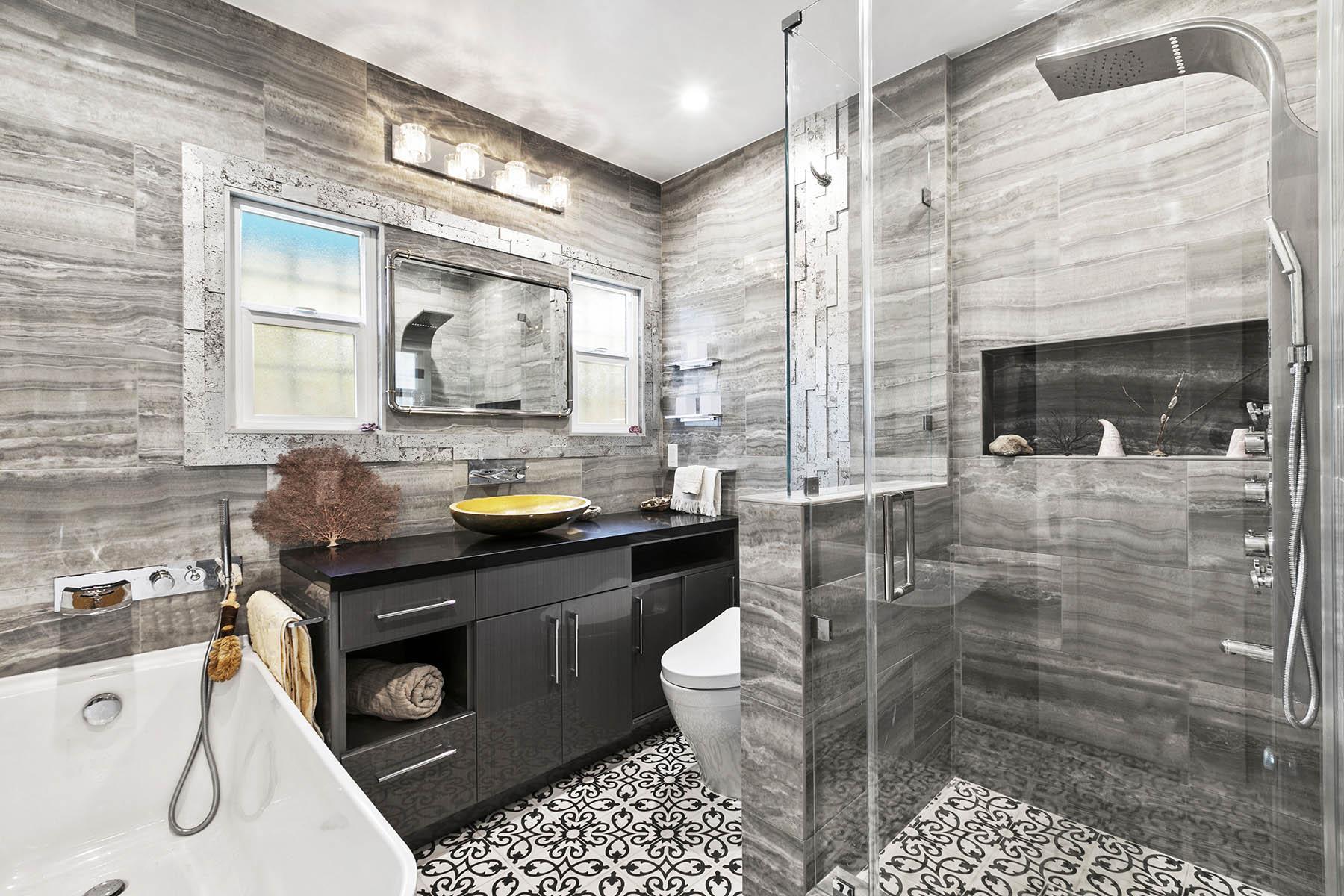 Atwater Village Bathroom Remodel Spazio La