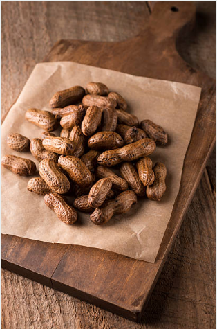 Hot Boiled Peanuts - Hot & fresh in three flavorsPlain SaltedCajunGarlic JalapenoOur foods are processed in a kitchen that does and could contain milk, eggs, soy, nuts (including: peanuts, tree nuts), wheat, and corn.