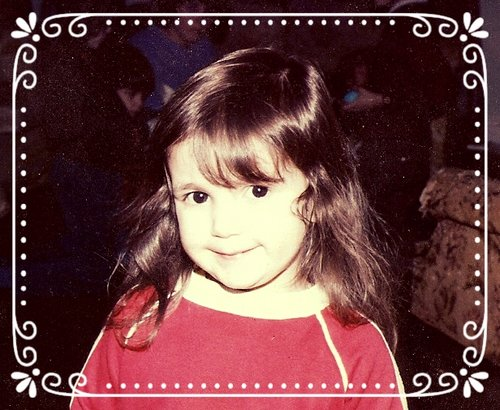 This is me when I was little. I was pretty cute.