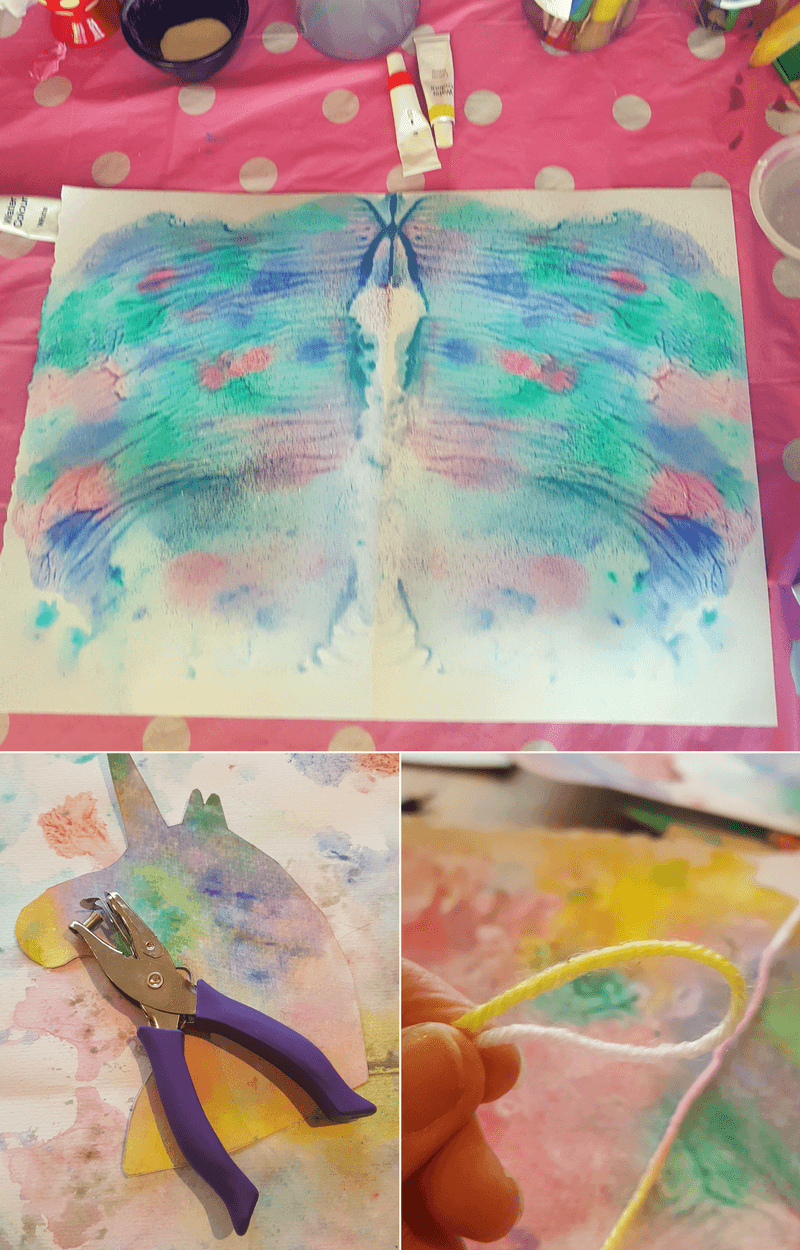 Rainbow Unicorn Paper