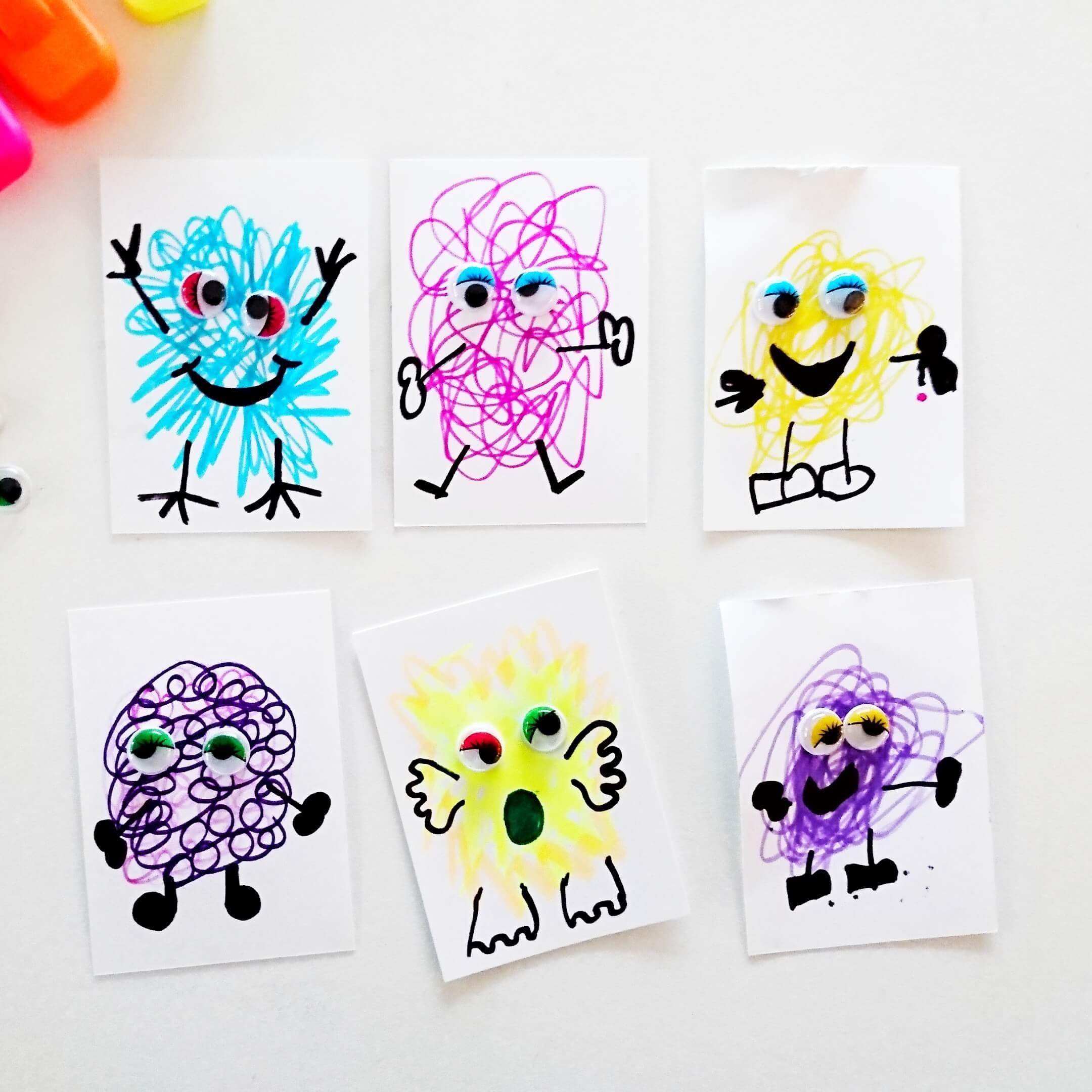 scribble monsters