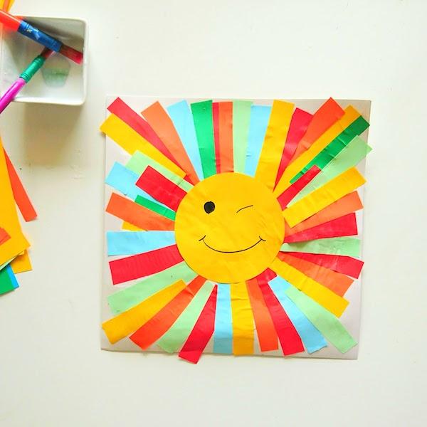 paper sun craft