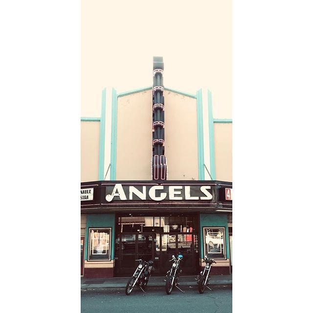 Movie date. Angels Camp CA. #deathtrapsmc #holeinthepopcornbucket #workseverytime #angelscamp #goldenchainhighway