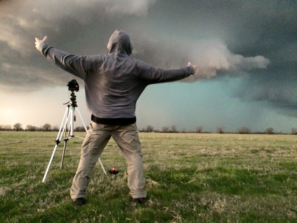 Powerful inflow winds. (Tim Thomas photo)