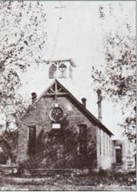St. Augustine Church 1887 (photo courtesy Brighton Historical Society)