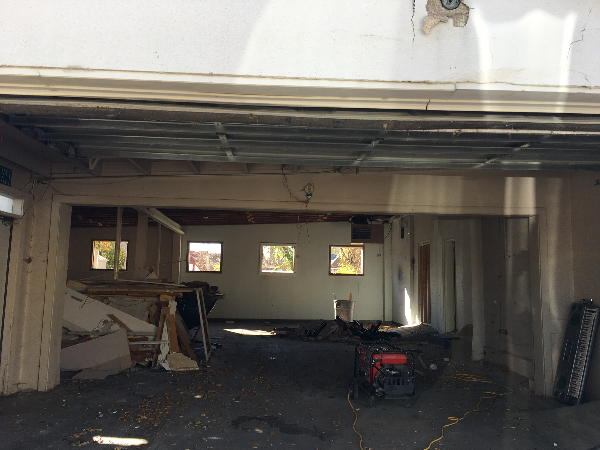 Alli Event Center, Brighton Co exterior renovation