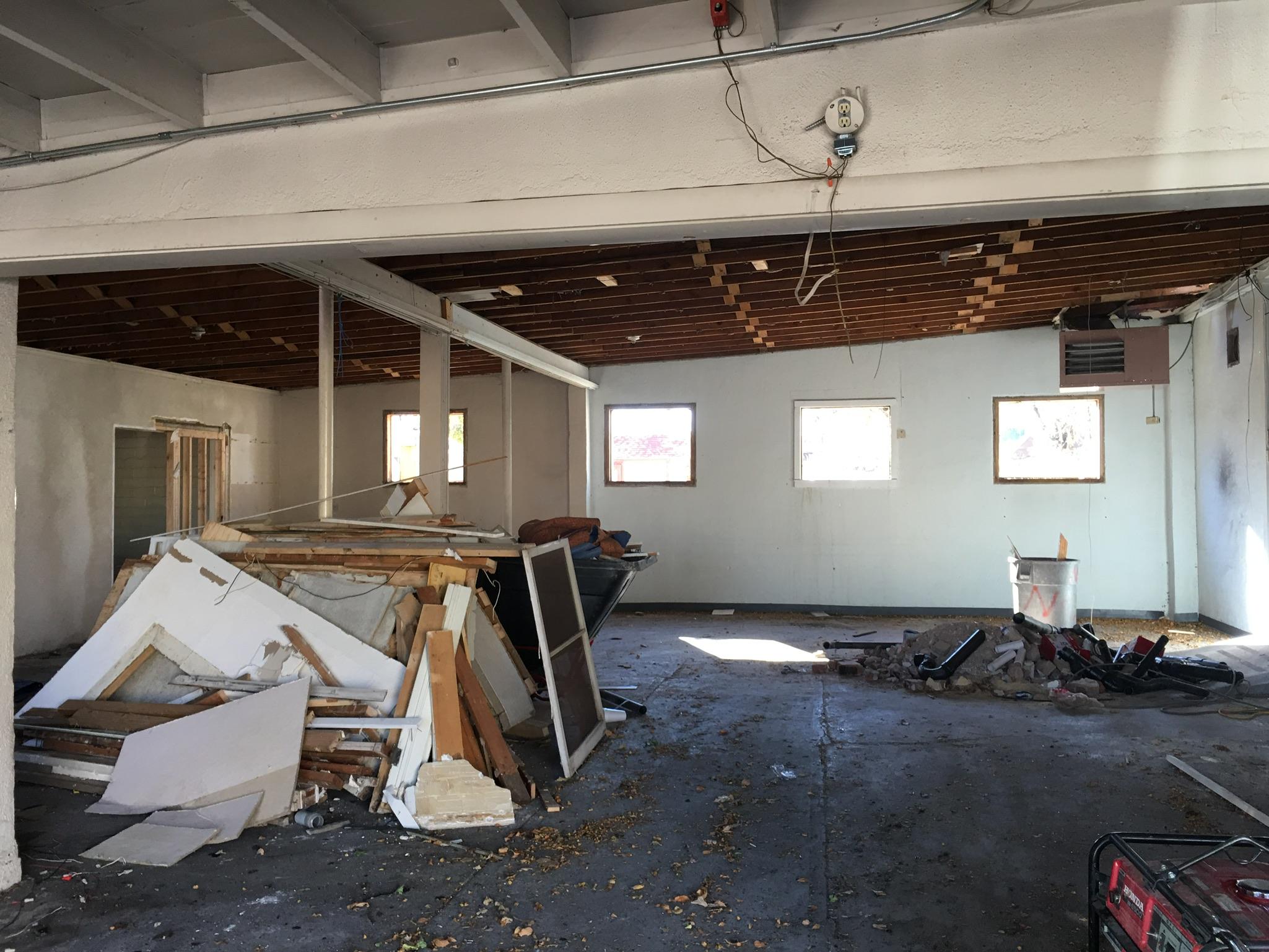 Alli Event Center, Brighton Co interior renovation