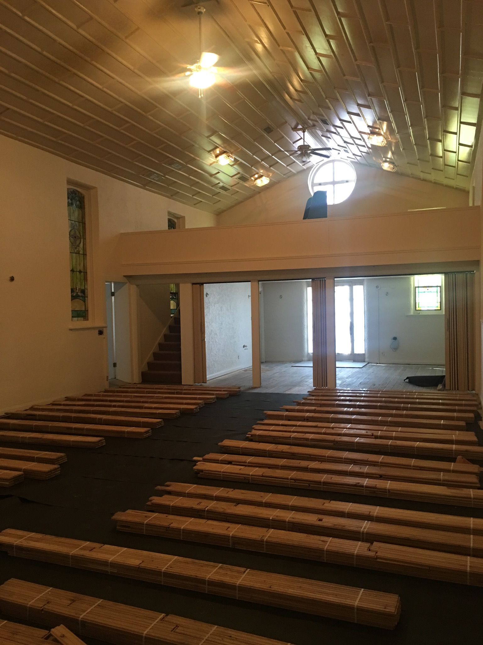 Alli Event Center, Brighton Co Sanctuary renovation